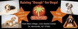 Raising _Dough_ for Dogs at Ruckus in Morrisville